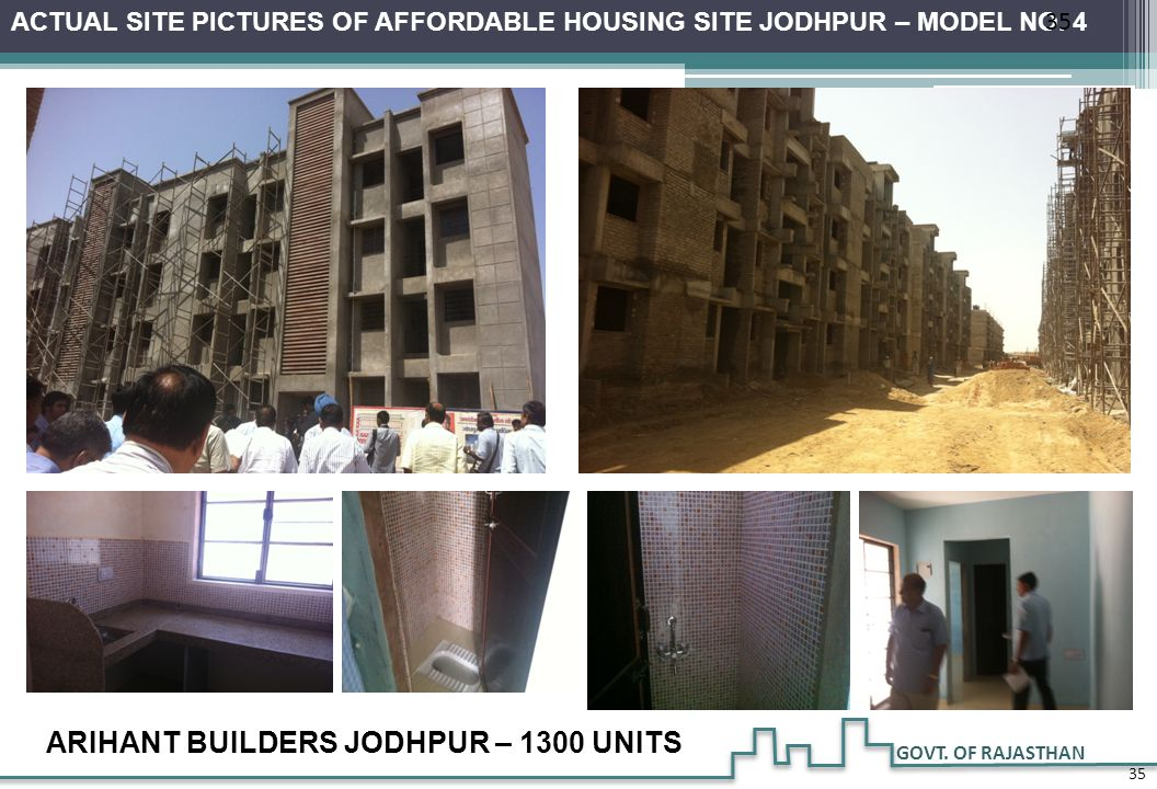 ARIHANT BUILDERS JODHPUR – 1300 UNITS