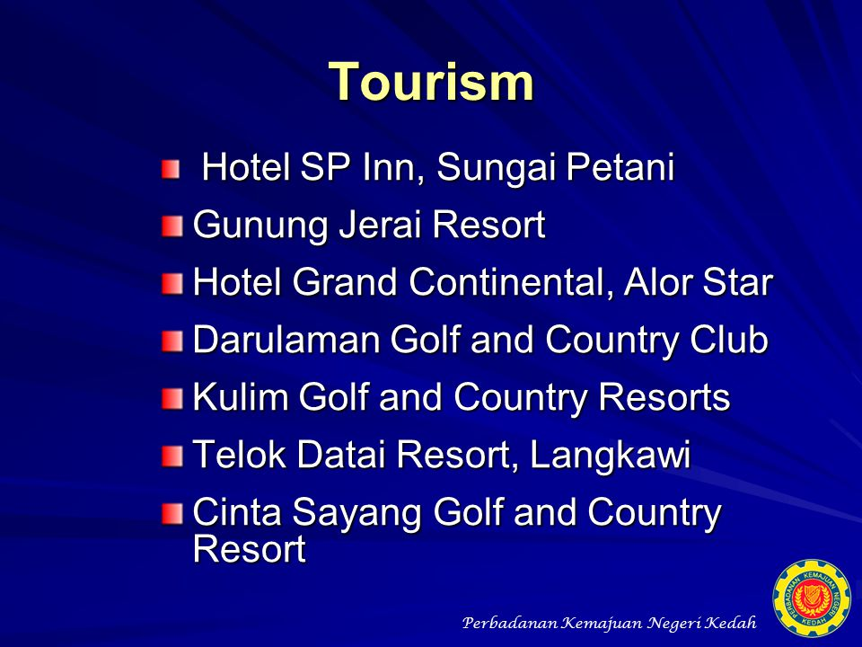 Tourism Gunung Jerai Resort Hotel Grand Continental, Alor Star