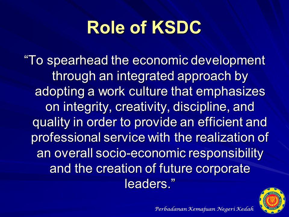 Role of KSDC