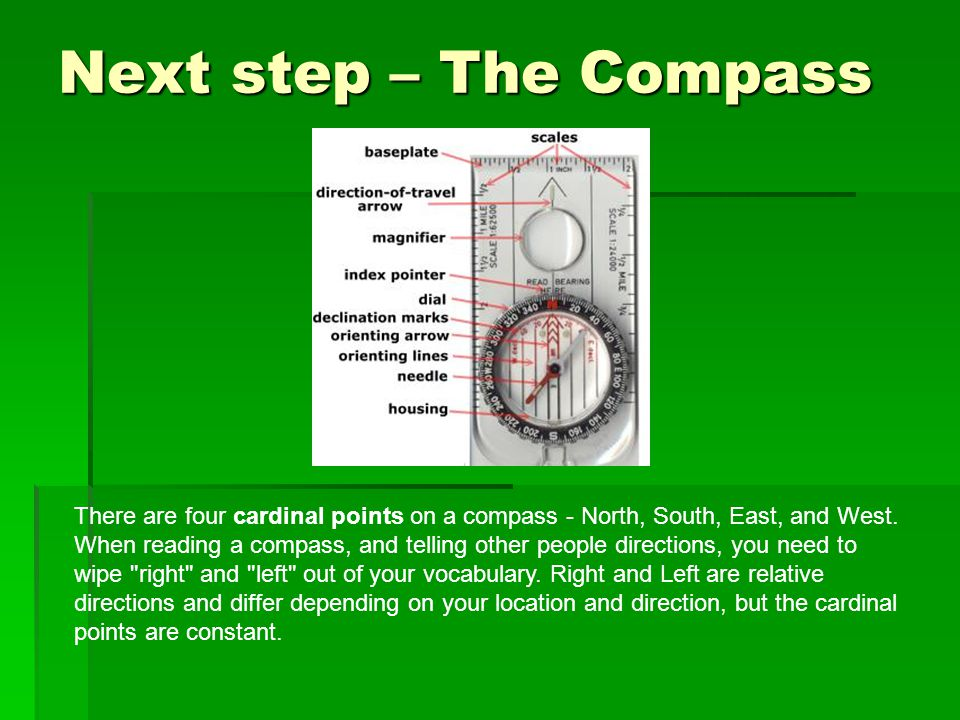 Next step – The Compass
