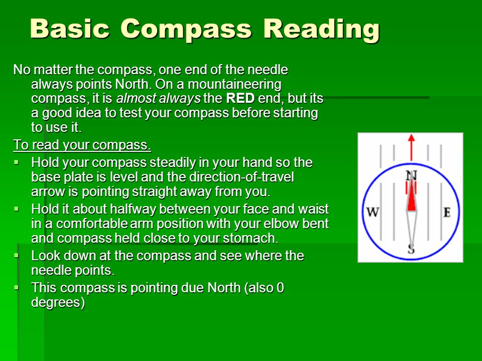 Basic Compass Reading