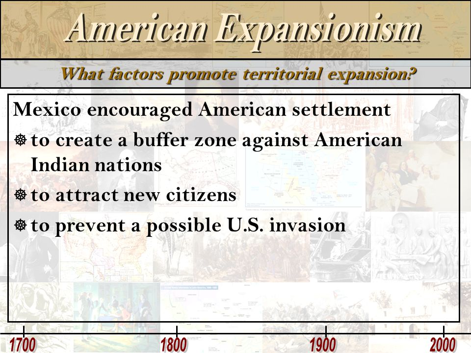 What factors promote territorial expansion