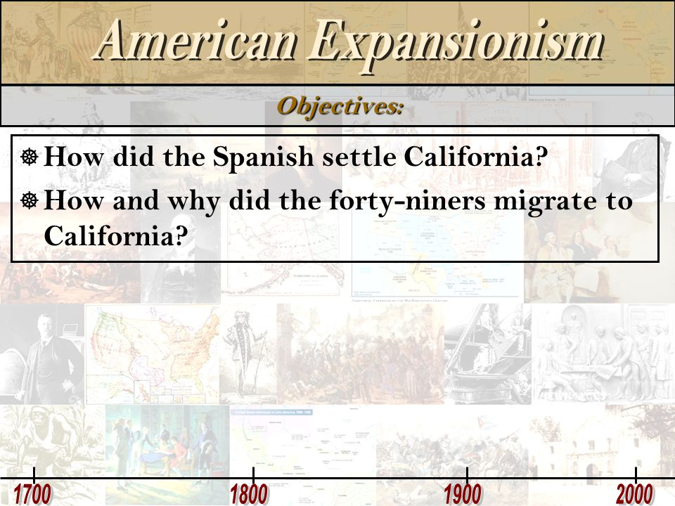 How did the Spanish settle California