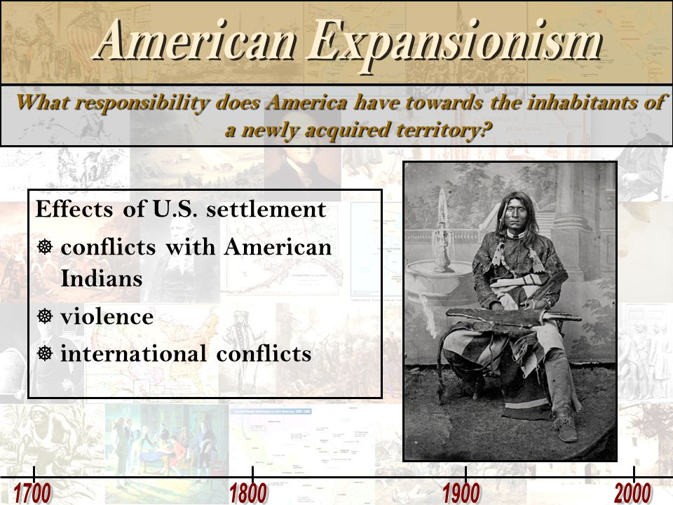 Effects of U.S. settlement conflicts with American Indians violence