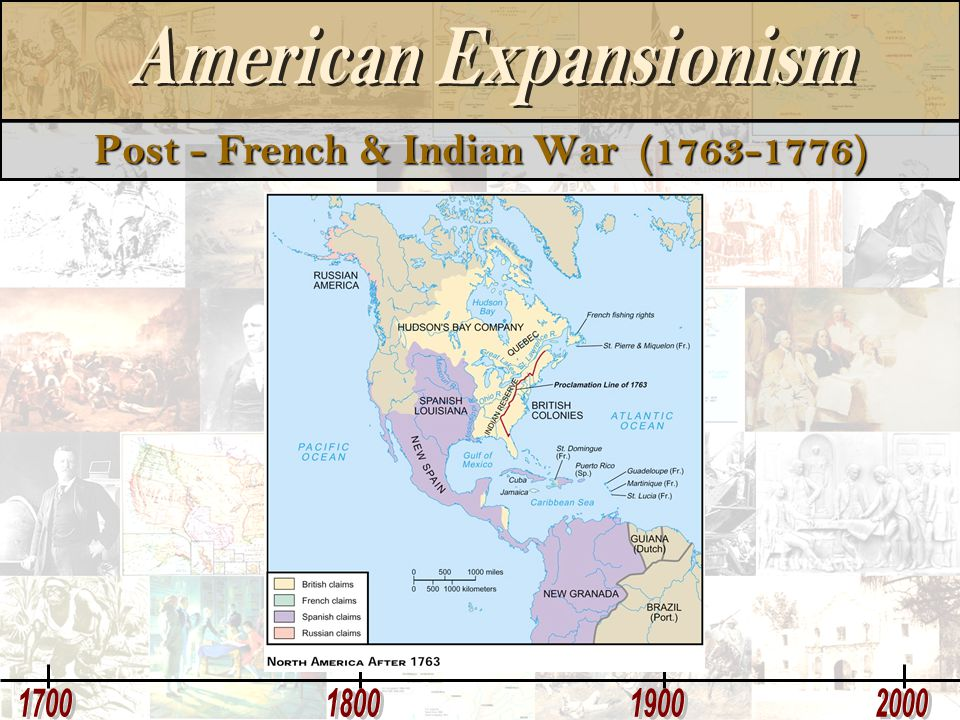 Post - French & Indian War (1763-1776)