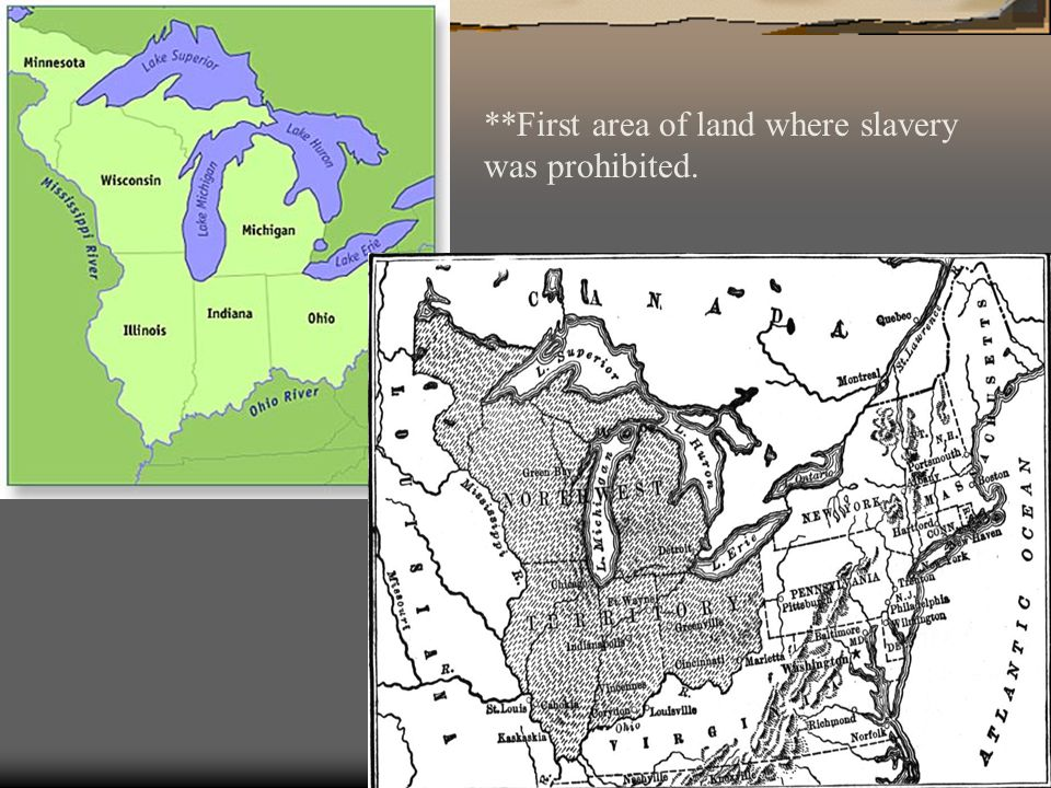 **First area of land where slavery