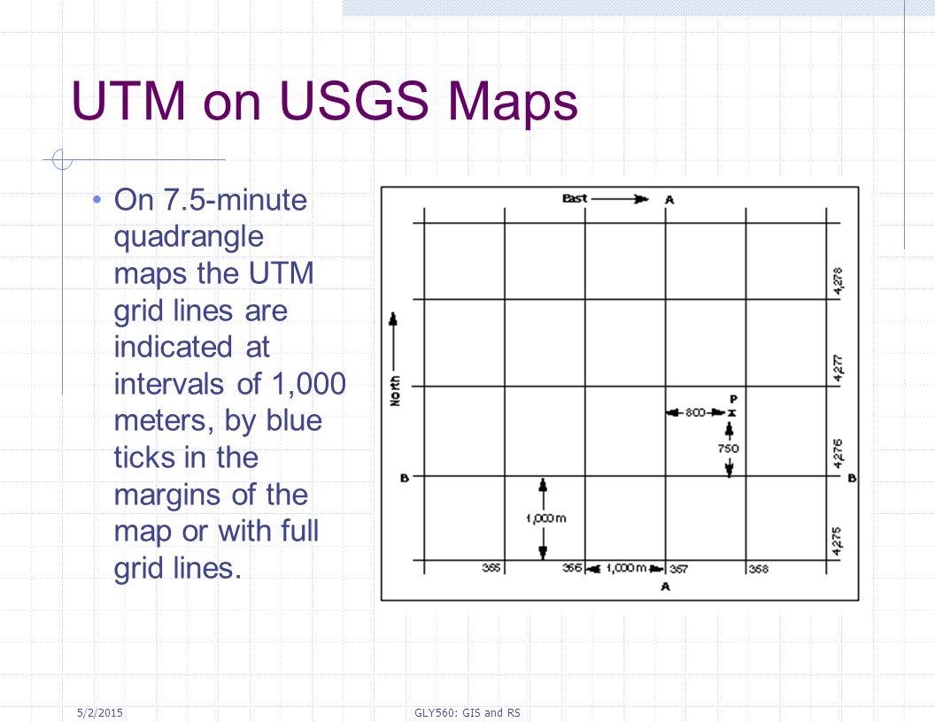 UTM on USGS Maps