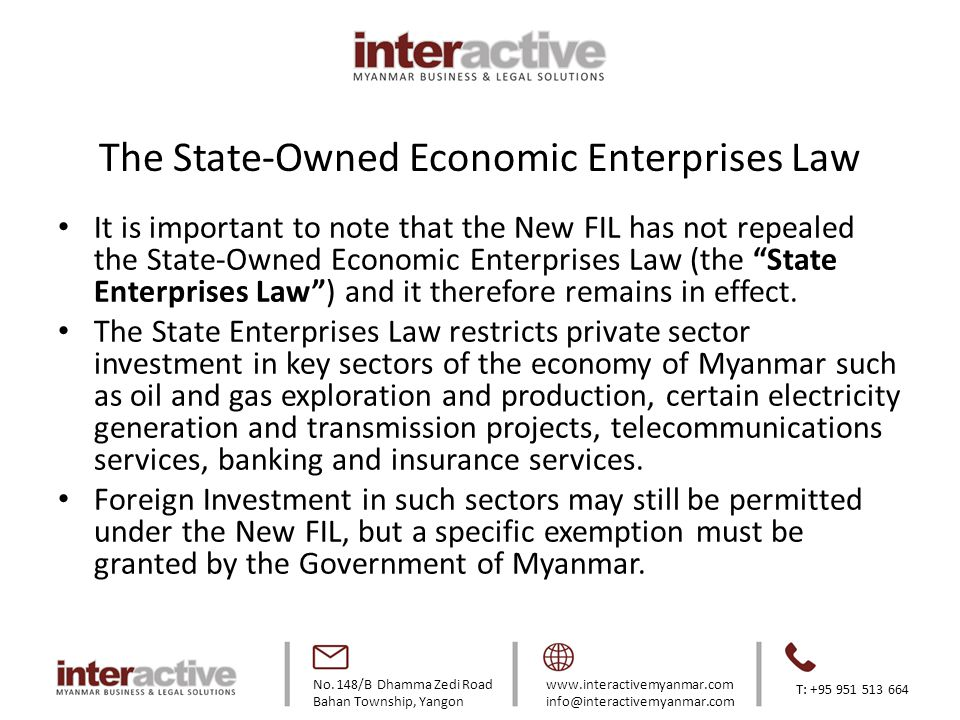 The State-Owned Economic Enterprises Law