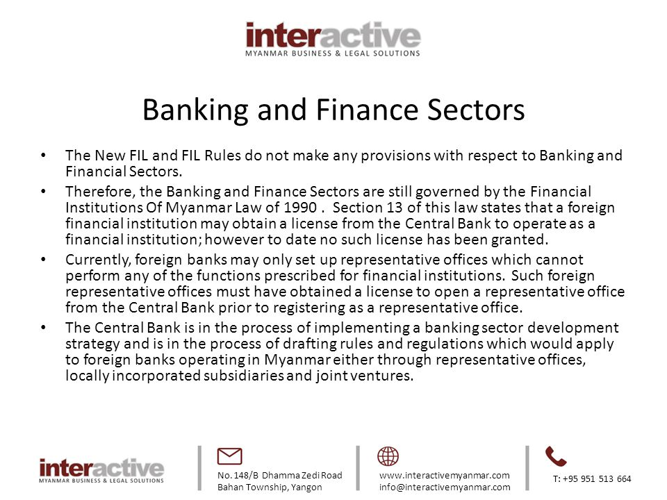 Banking and Finance Sectors