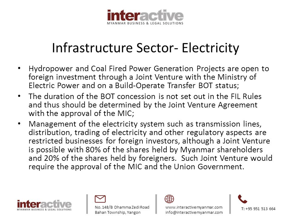 Infrastructure Sector- Electricity