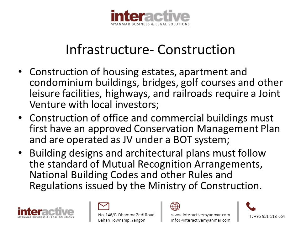 Infrastructure- Construction