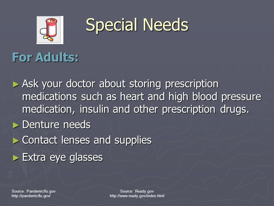 Special Needs For Adults: