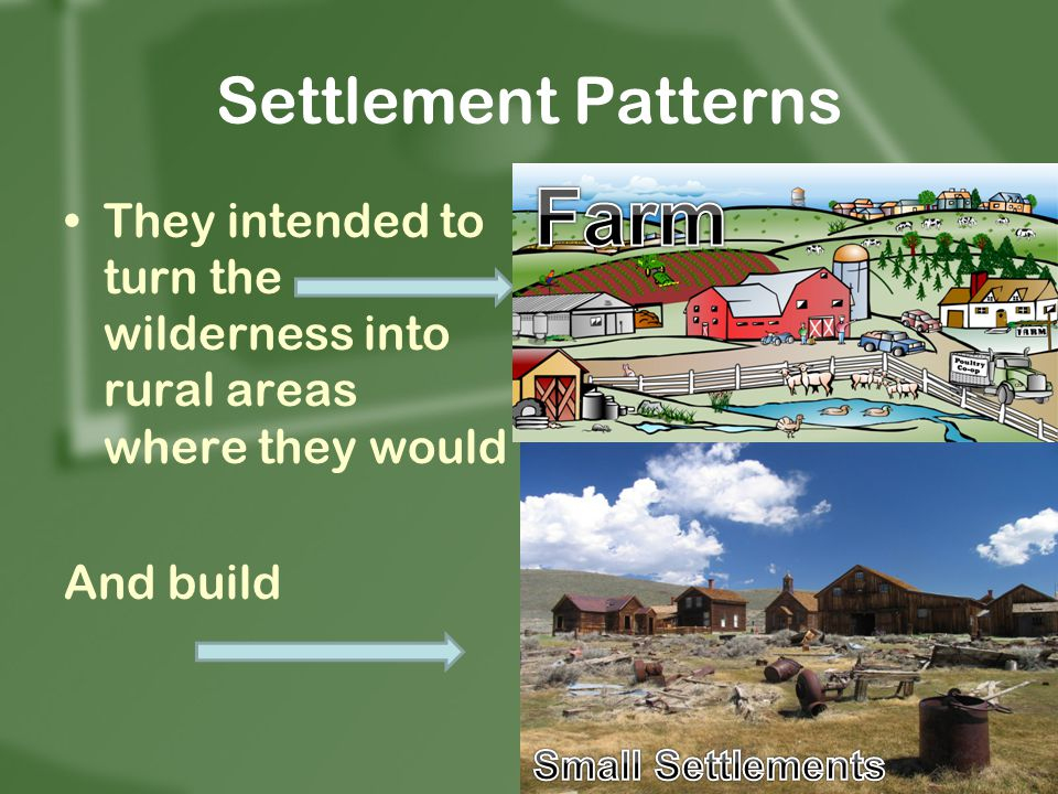 Farm Settlement Patterns