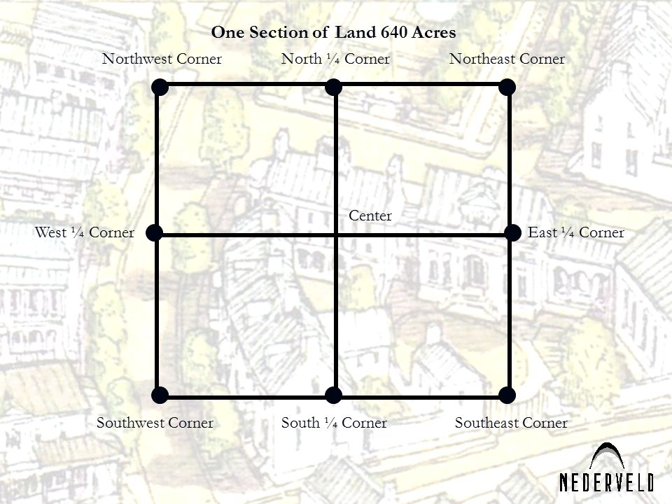 One Section of Land 640 Acres