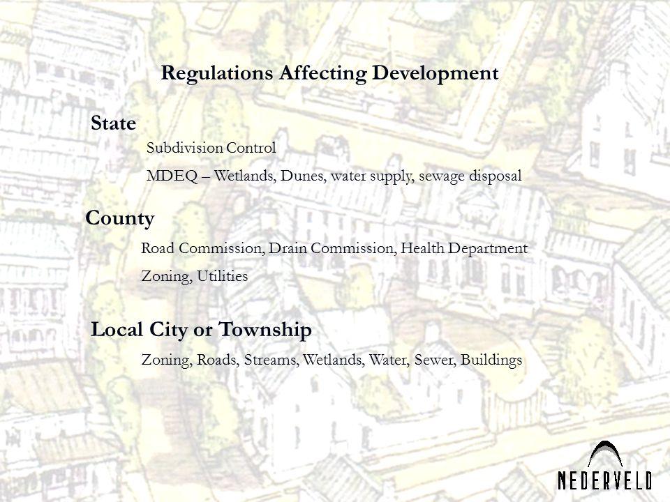 Regulations Affecting Development