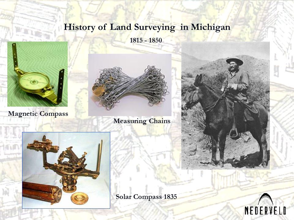 History of Land Surveying in Michigan