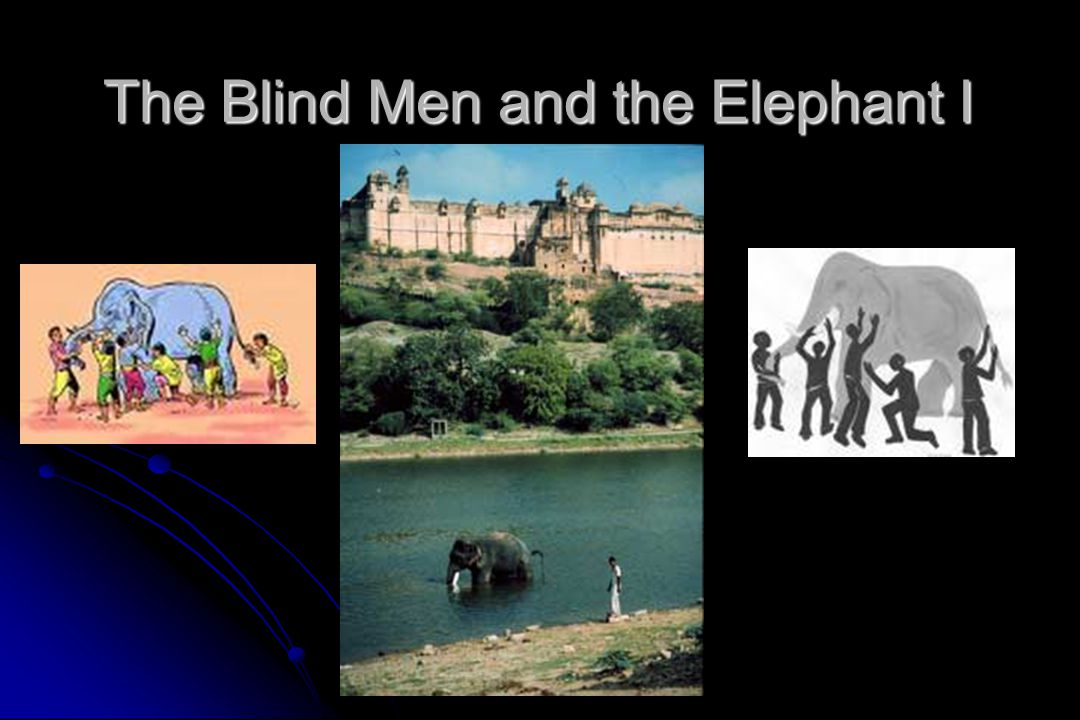 The Blind Men and the Elephant I