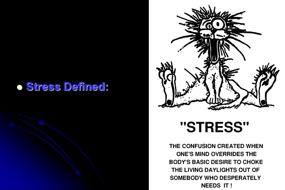 Stress Defined: