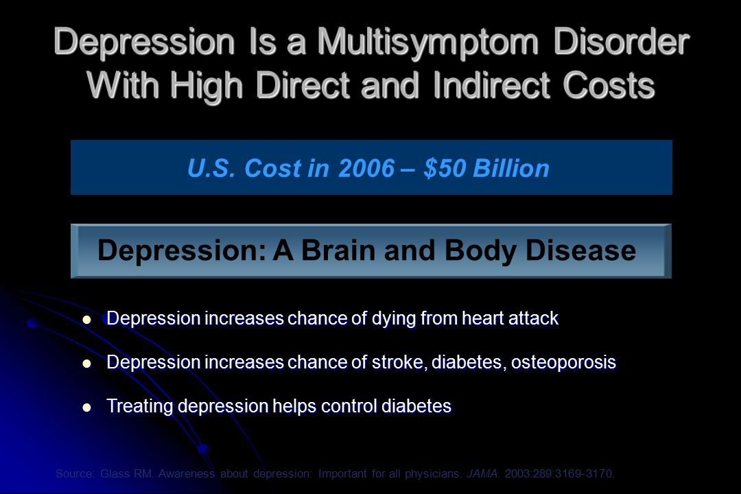 Depression: A Brain and Body Disease