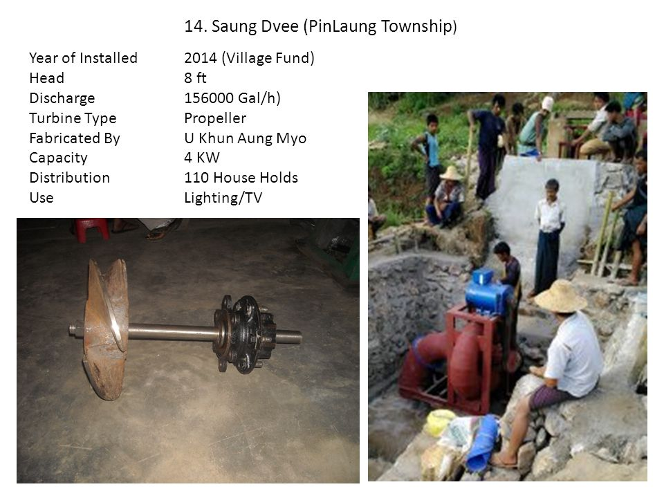 14. Saung Dvee (PinLaung Township)