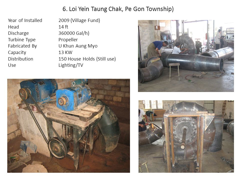 6. Loi Yein Taung Chak, Pe Gon Township)