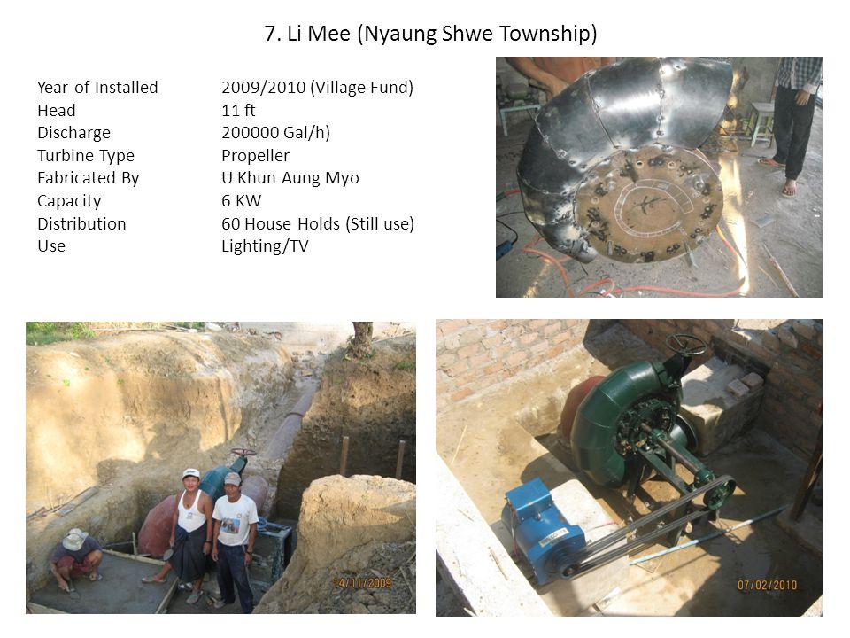 7. Li Mee (Nyaung Shwe Township)