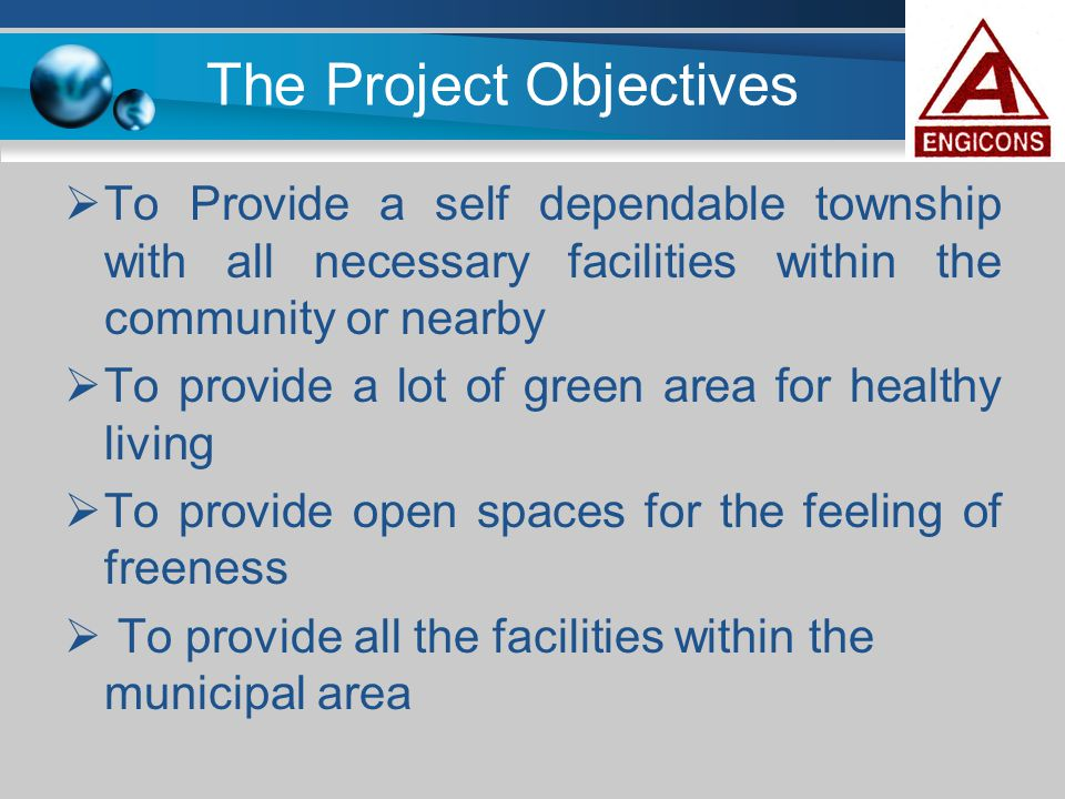 The Project Objectives