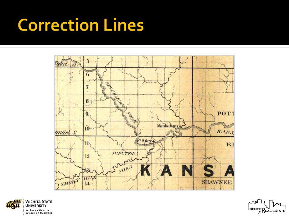 Correction Lines