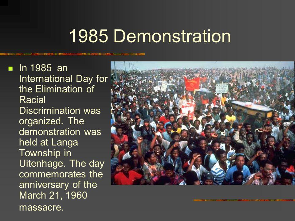 1985 Demonstration