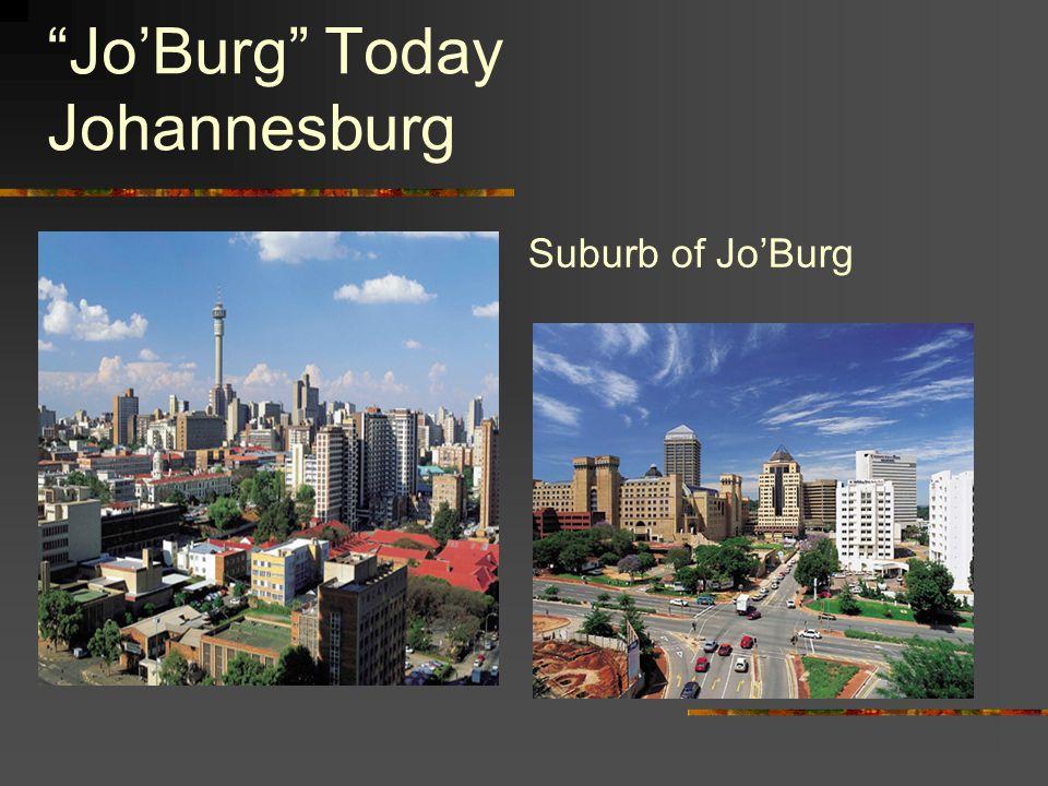 Jo'Burg Today Johannesburg