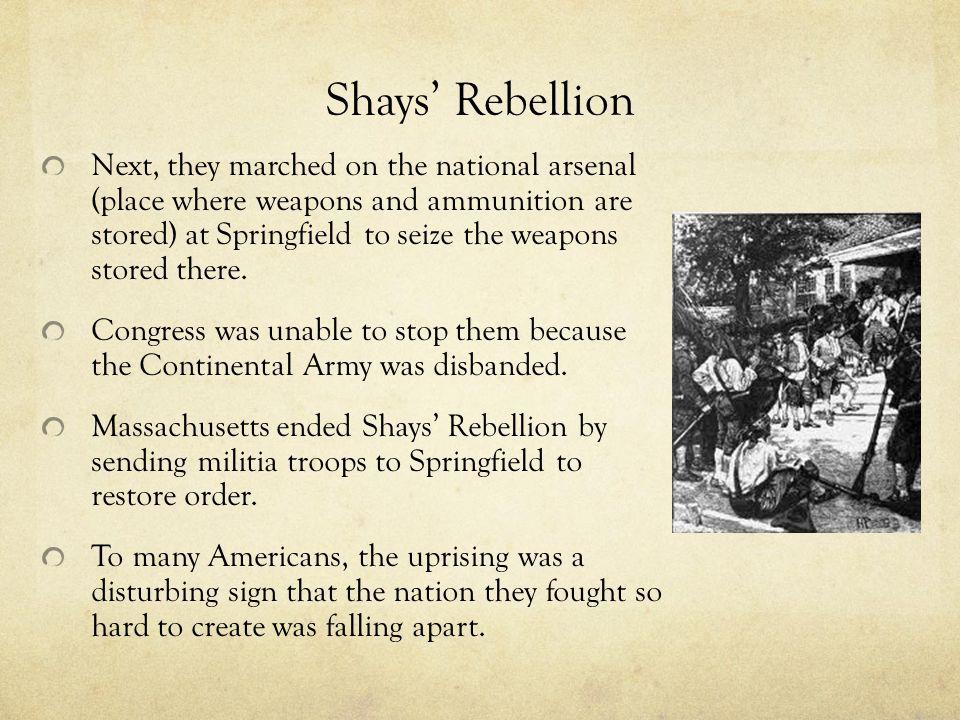 Shays' Rebellion
