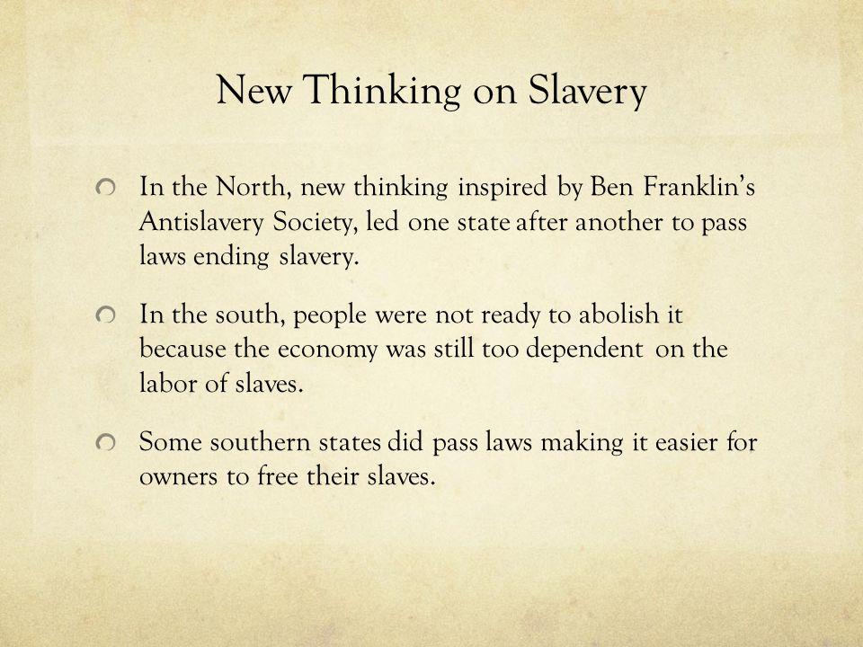New Thinking on Slavery