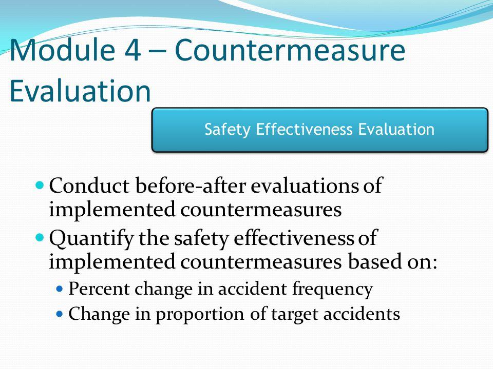 Module 4 – Countermeasure Evaluation