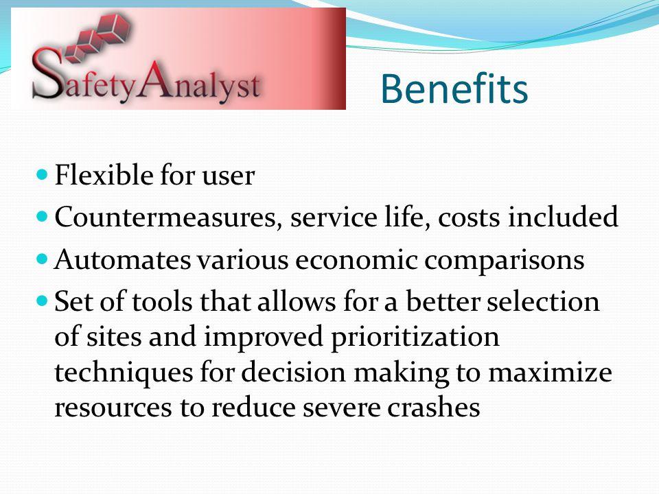 Benefits Flexible for user