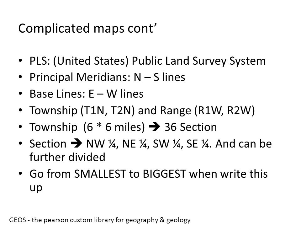 Complicated maps cont'