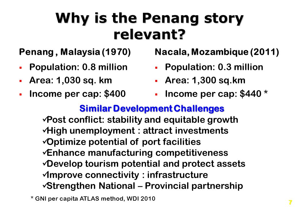 Why is the Penang story relevant