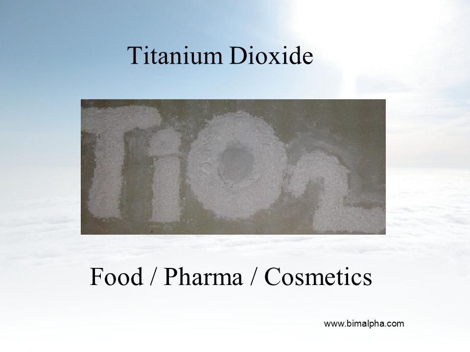 Food / Pharma / Cosmetics