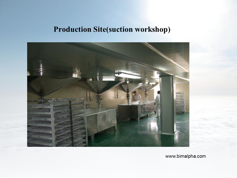 Production Site(suction workshop)