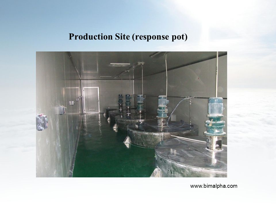 Production Site (response pot)