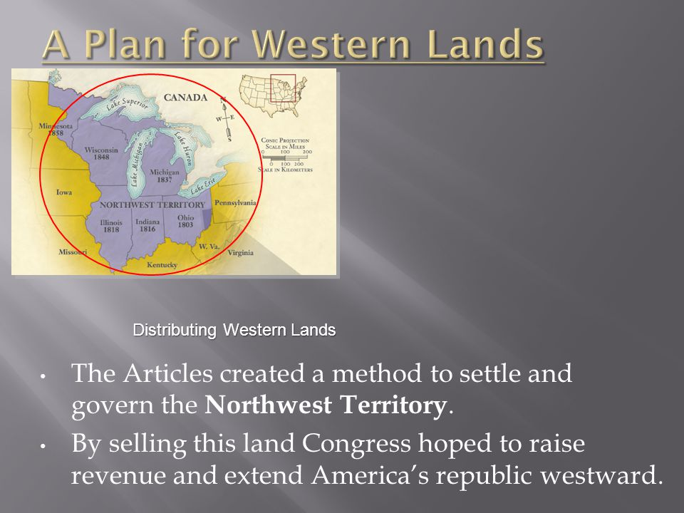 A Plan for Western Lands