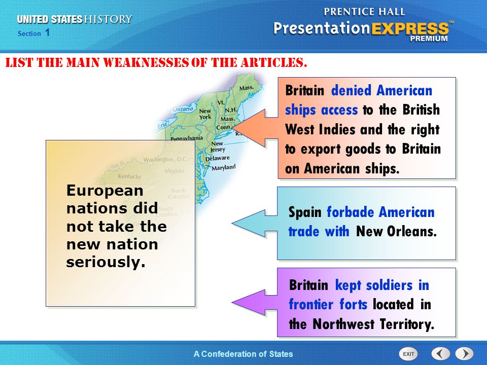 Spain forbade American trade with New Orleans.