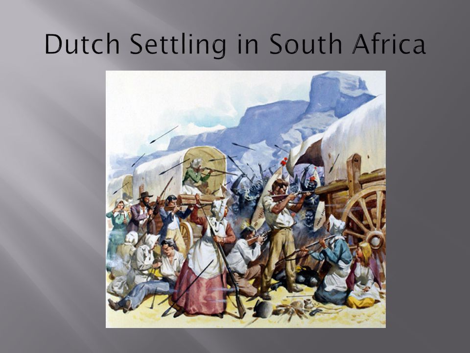 Dutch Settling in South Africa