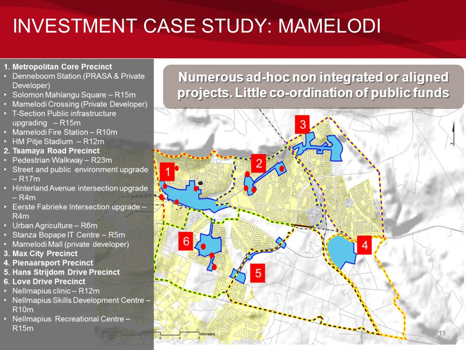 INVESTMENT CASE STUDY: MAMELODI