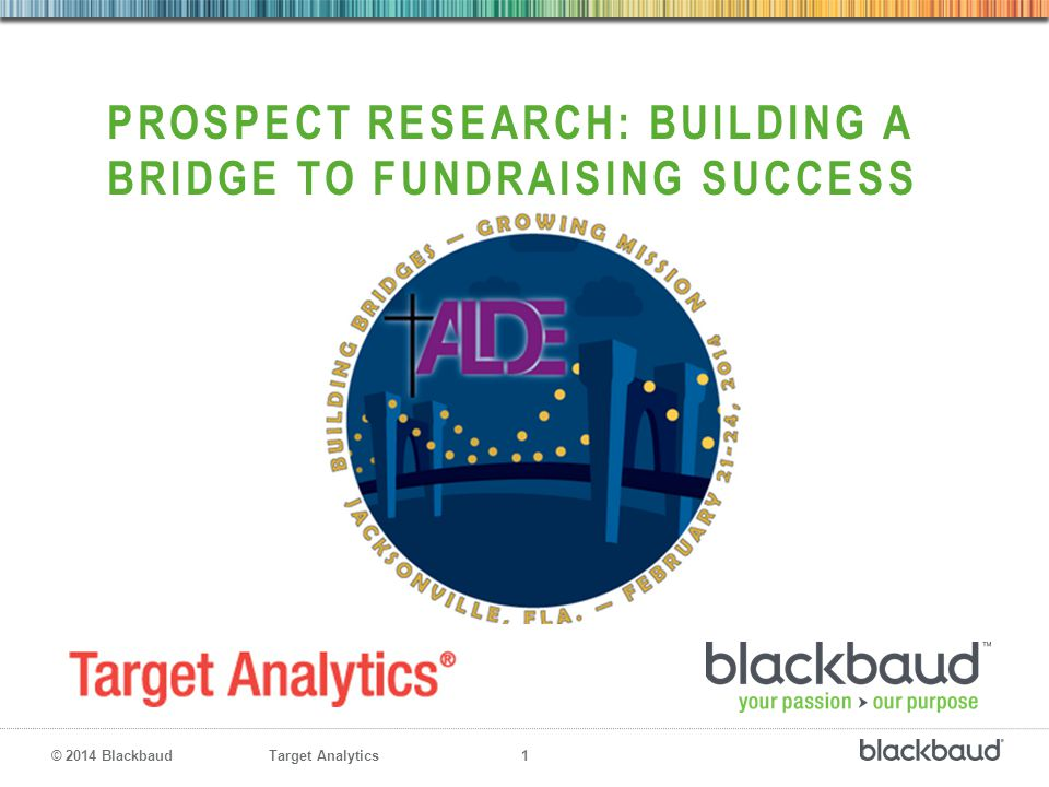 Prospect research: building a bridge to fundraising success