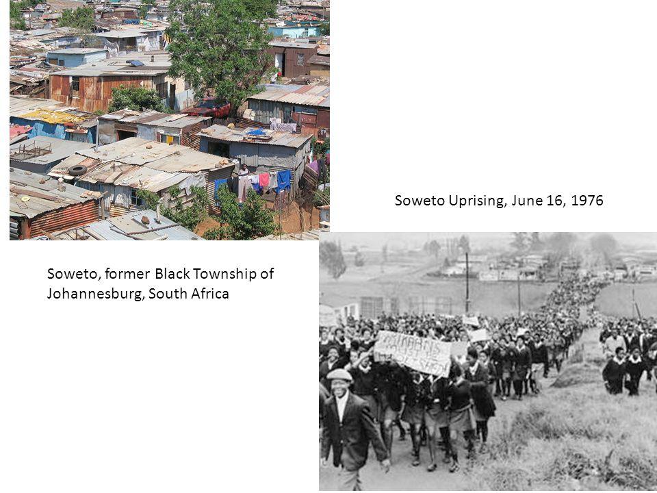 Soweto Uprising, June 16, 1976 Soweto, former Black Township of Johannesburg, South Africa