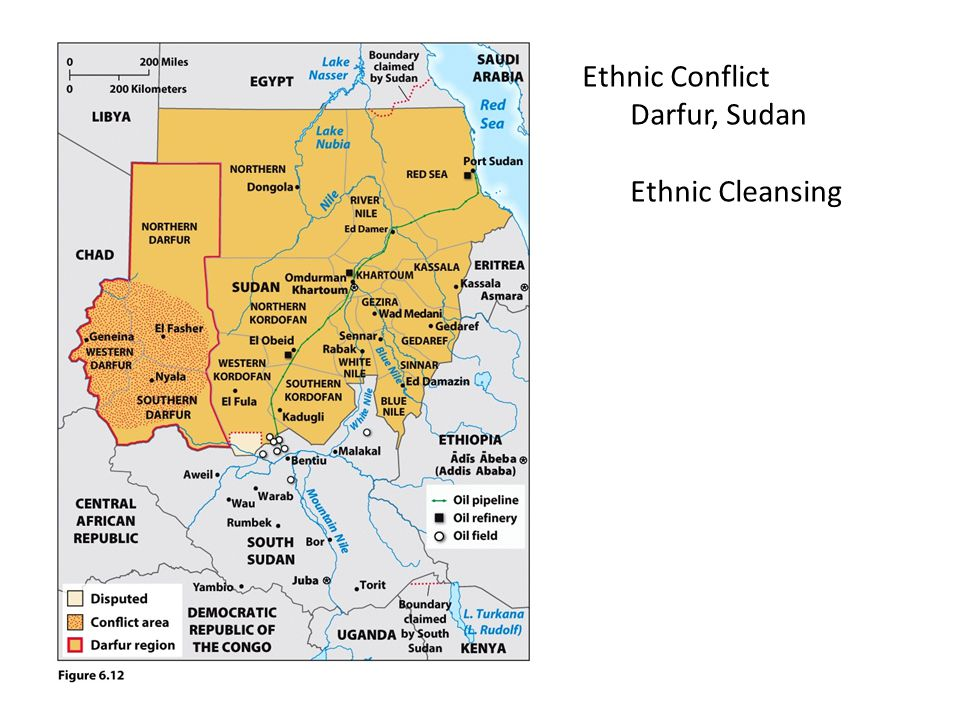 Ethnic Conflict Darfur, Sudan Ethnic Cleansing
