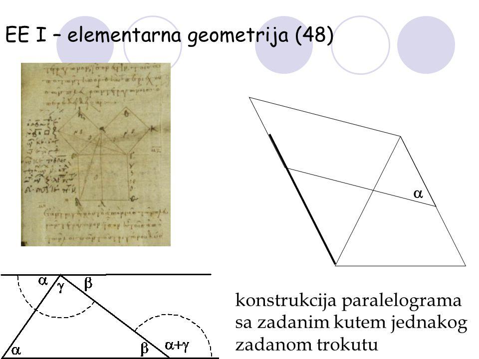 EE I – elementarna geometrija (48)