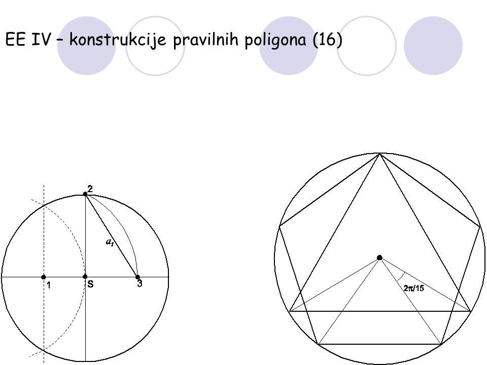 EE IV – konstrukcije pravilnih poligona (16)