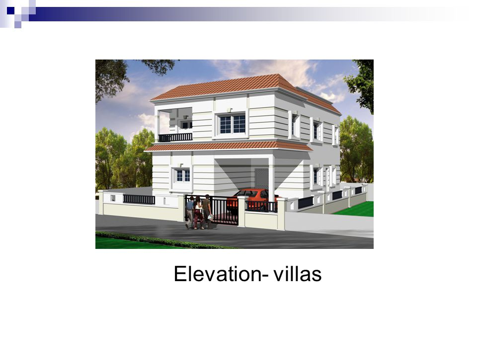 Elevation- villas