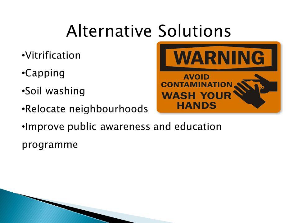 Alternative Solutions